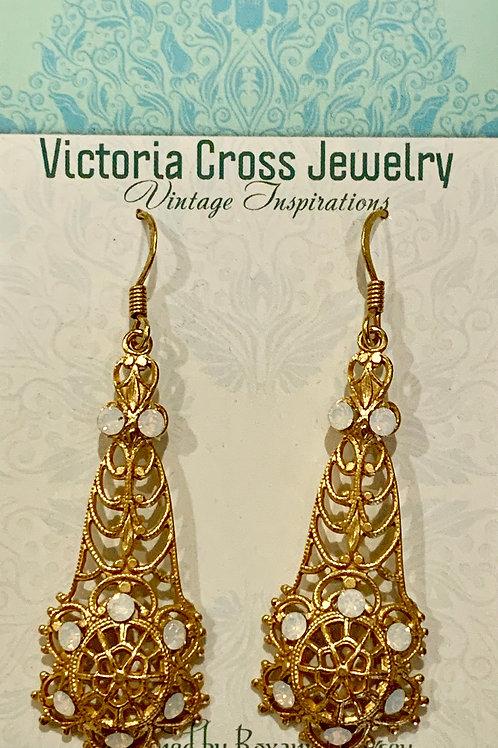 Victoria Cross Earring