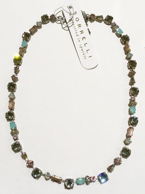 Sorrelli, Crystal Moss, Necklace, Sale, champagne, smoky quartz, opal, turquoise, blush
