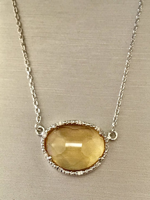 Phillip Gavriel, pendent, Citrine, necklace