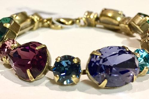 Sorrelli, bracelet, jewel tone, adjustable