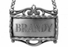 Salisbury's Brandy Decanter Label