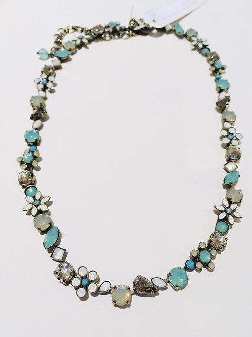 sorrelli, necklace, antique silver, Aegean Sea