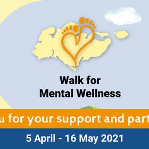 Walk for Mental Wellness: Campaign Summary