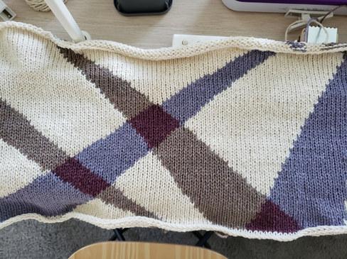 Fresh off the knitting machine