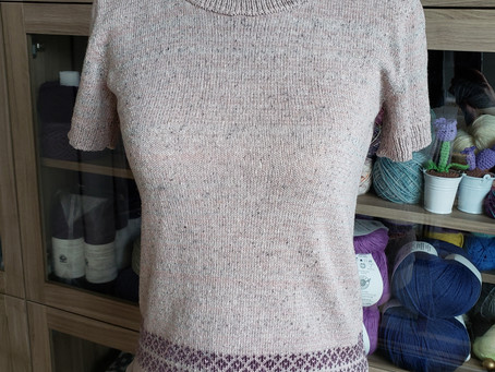 Recently Finished Machine Knits and New Blog!