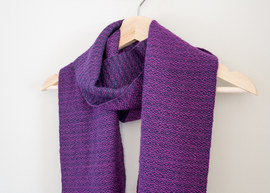 Wool and alpaca scarf