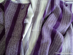 Woven in cotton and linen