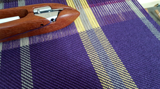 Weaving the Purple Towels