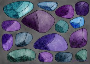Jewel-toned Stones