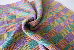 Four coloured towel