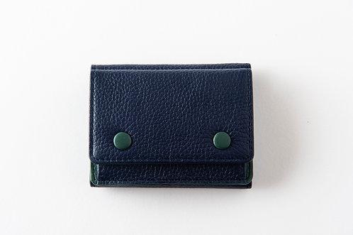 ミニ財布 ネイビー