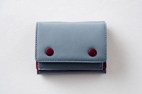 ミニ財布 ブルー