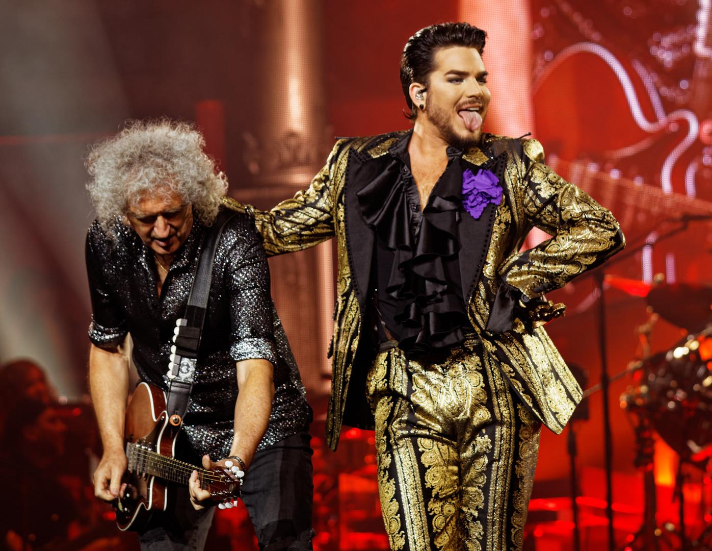 Brian May & Adam Lambert
