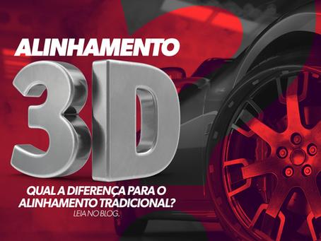 Alinhamento 3D x Alinhamento Tradicional