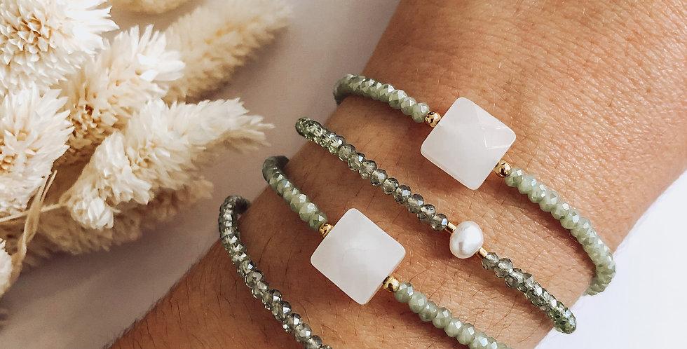 Bracelet TAMARA - Vert d'eau