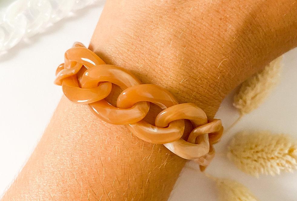 Bracelet MAILLE - Terracotta