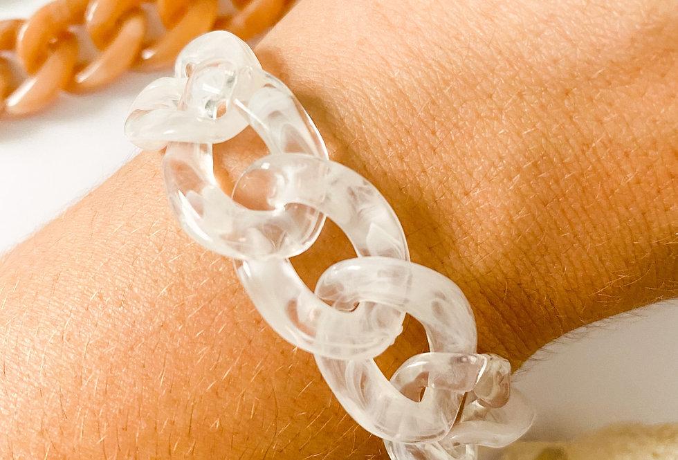 Bracelet MAILLE - Cristal