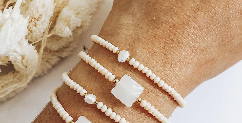 Bracelet TAMARA - Blanc