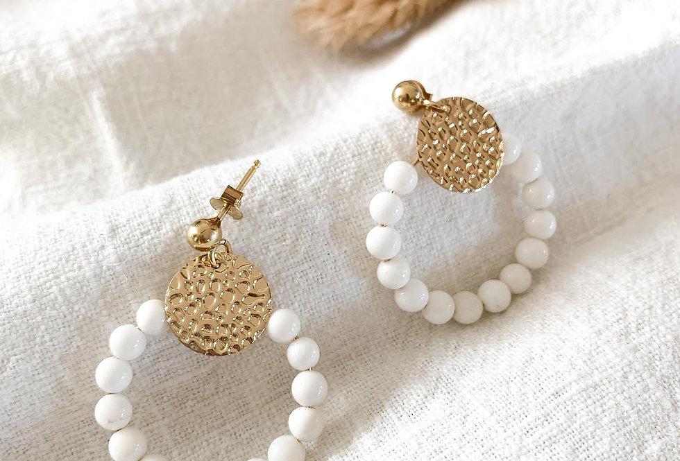 Boucles GISÉLE - Blanc