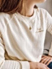 Henoa-vetements-sweat-blanc-creme-paris-