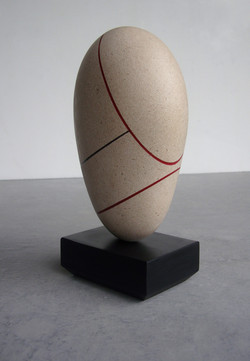 Two Red Ovals