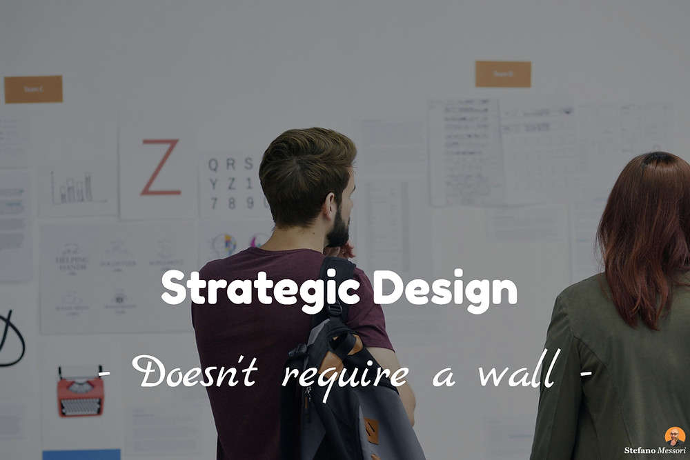 Online training session on Strategic Design