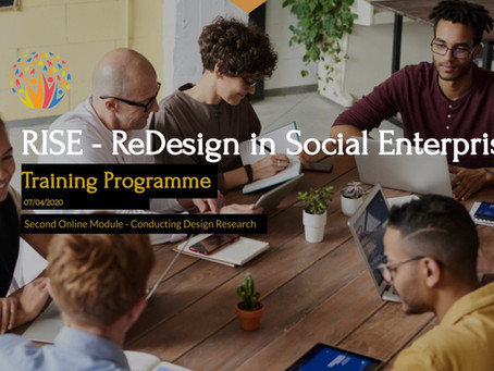 Book your place for RISE Module 2 (Design Research). Recording of the 1st catch up session.