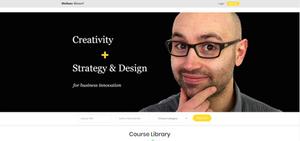 On-line content platform on Strategic Design