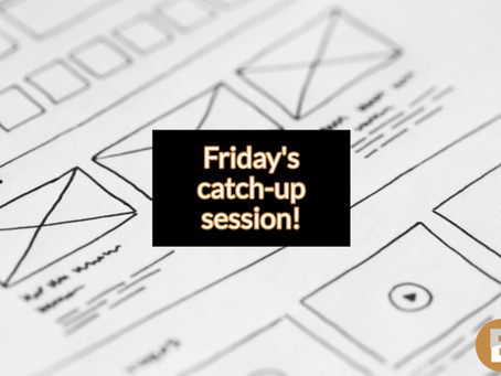 Register for Firday catch-up session & recording of module 5 - the business model