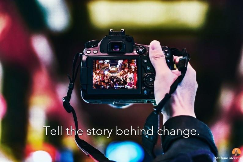 Designing videos communicating strategic change