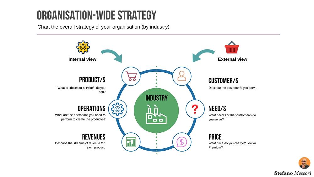 Organisation-wide strategy
