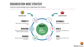 The organisation-wide strategy template