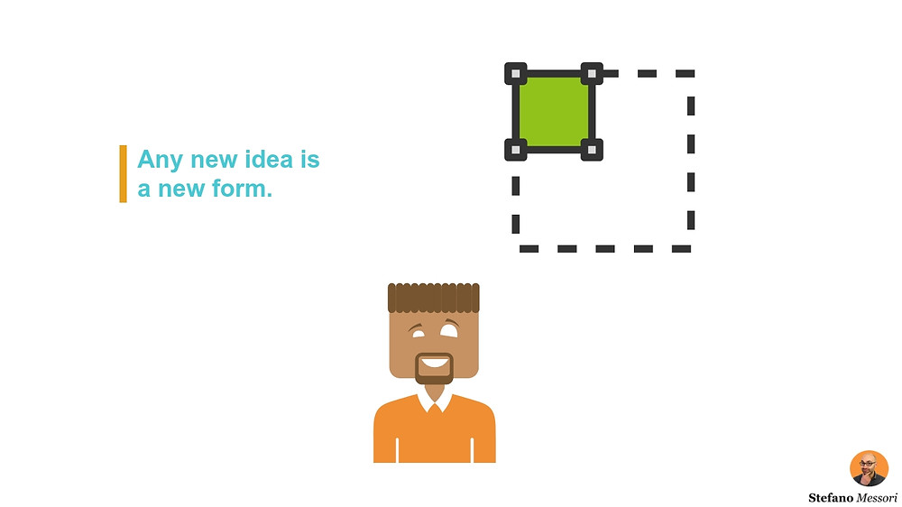 A new business idea is a new way to perceive business growth