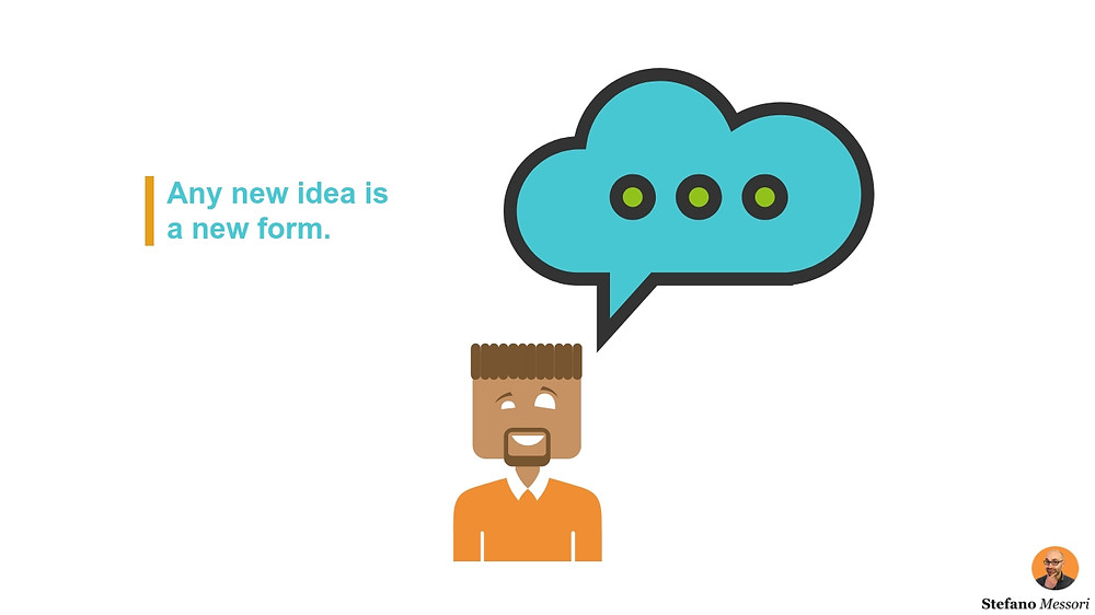 A new (business) idea is a new form