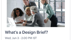 What's a Design Brief?