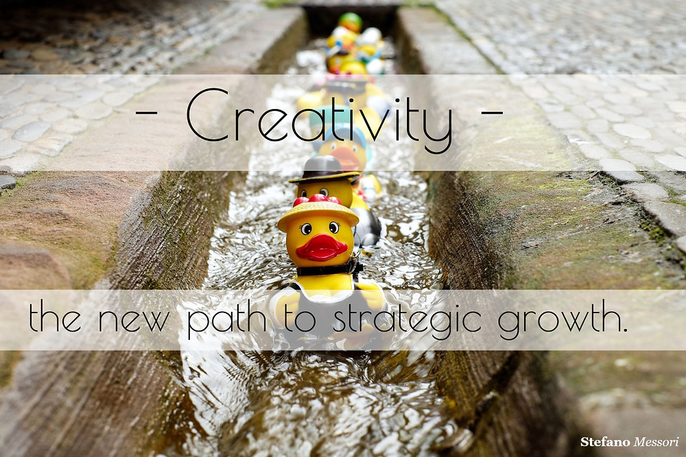 Creativity the new path to strategic growth