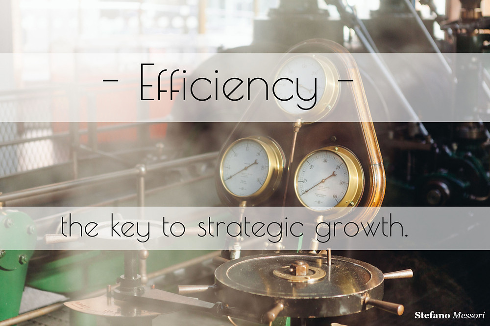Efficiency as a key to business growth