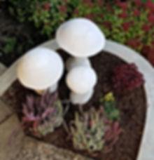dekoration aus beton für garten, terrasse, balkon
