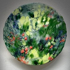 Woodland Series (one of many)_encaustic
