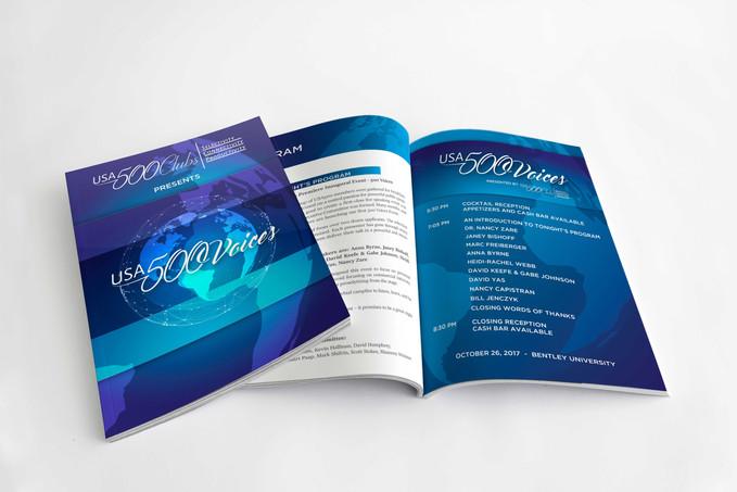 EVENT BRANDING, PROGRAM DESIGN, PRINT DESIGN
