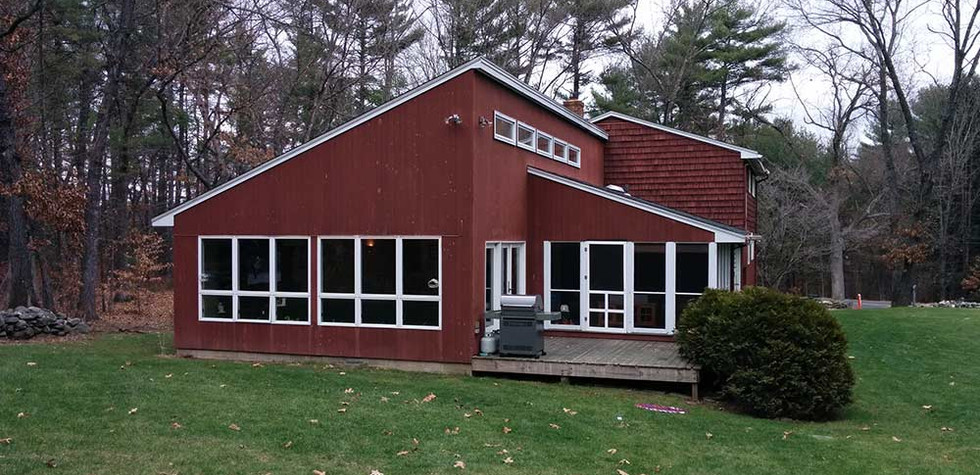 House in the Woods - Before