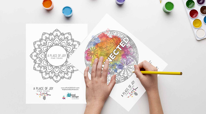 Promotional Coloring Pages