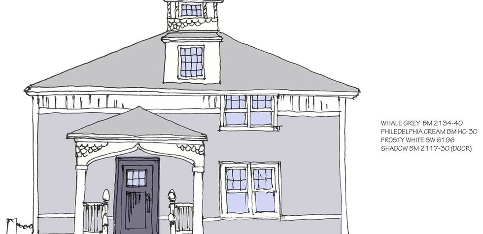 Carriage House - Drawing