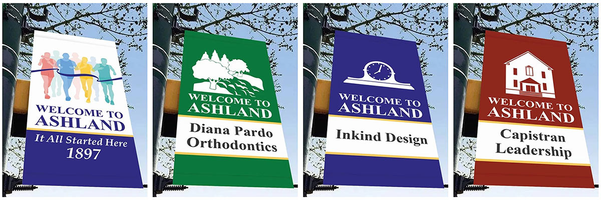 TOWN BANNERS, SIGNAGE