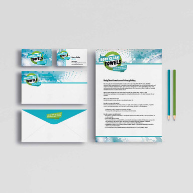 BODY CLEAN TOWELS STATIONERY