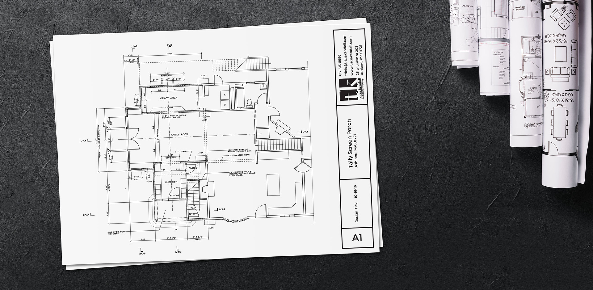 architecture drawing labels