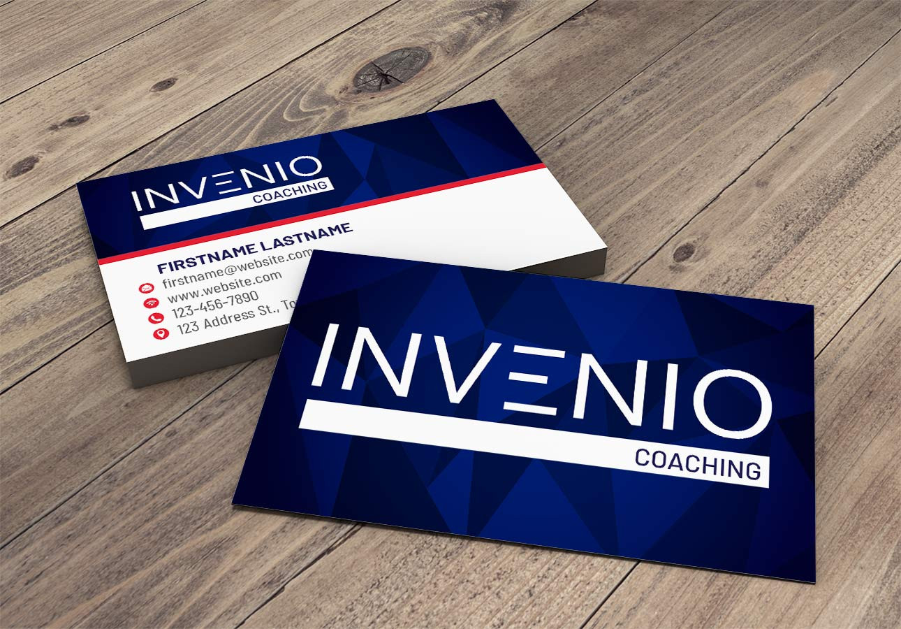 LOGO, BUSINESS CARDS