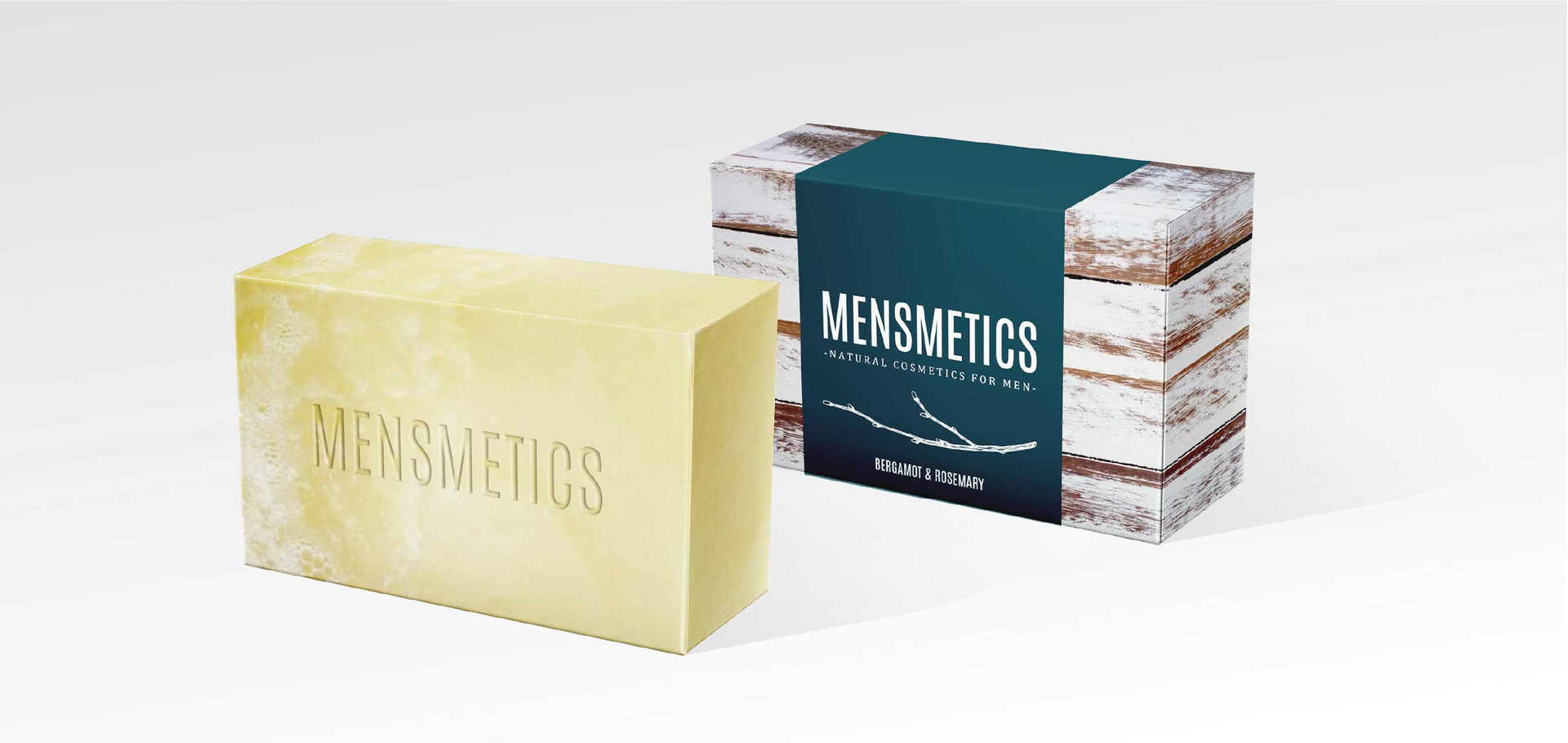 soap imprint and primary package design
