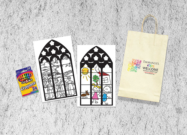 PROMOTIONAL DESIGN, COLORING PAGES, PRINT DESIGN