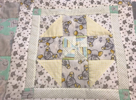 A Super Soft Baby Quilt